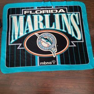 Other - Florida Marlins soft throw blanket